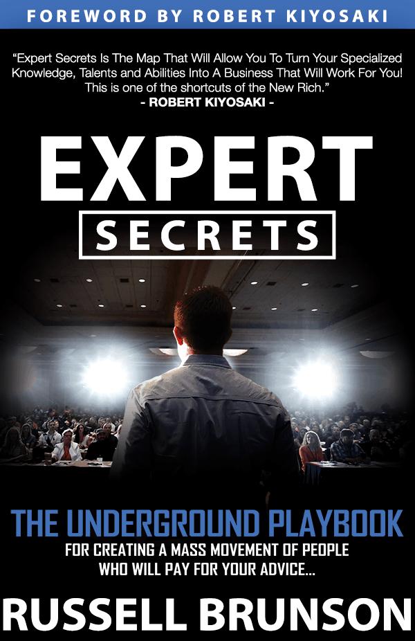 Expert Secrets Book Review by Russell Brunson ClickFunnels