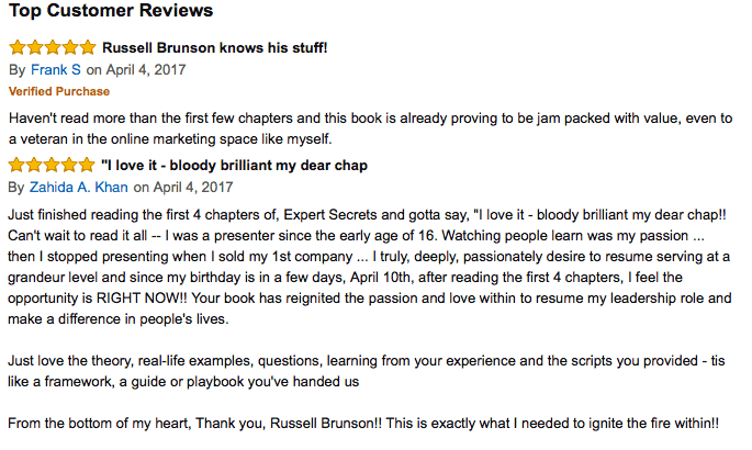 Expert Secrets Review Russell Brunson