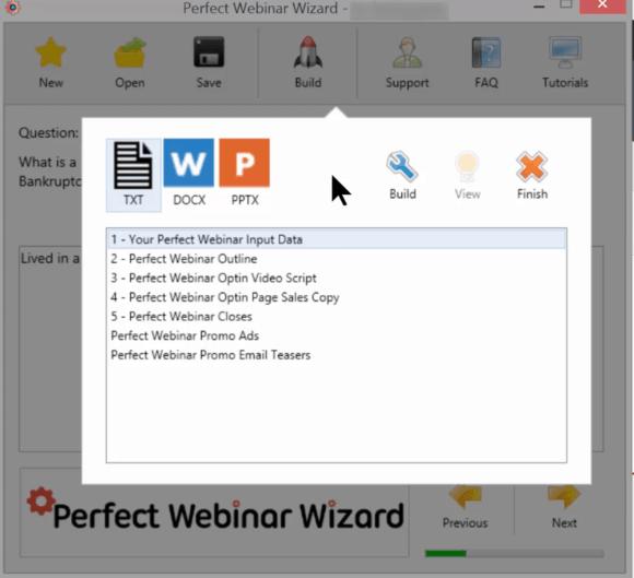 Perfect Webinar Wizard from Funnel Scripts