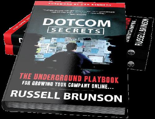 dotcom secrets book russell brunson clickfunnels