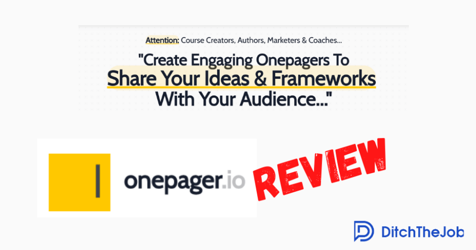 onepager.io review